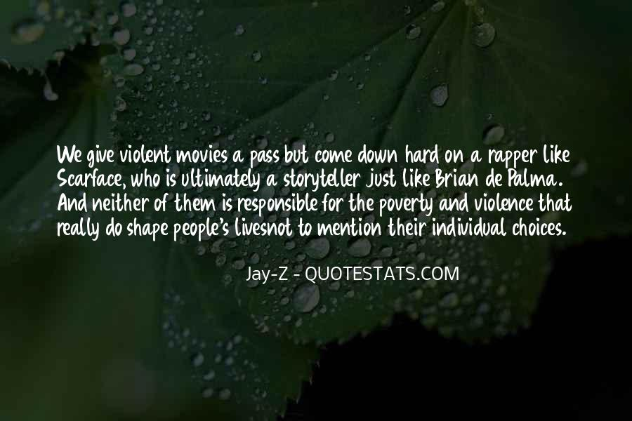 Quotes About Poverty And Violence #296460