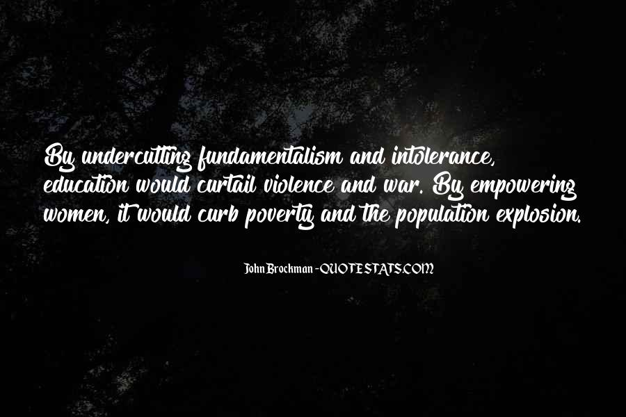 Quotes About Poverty And Violence #351364