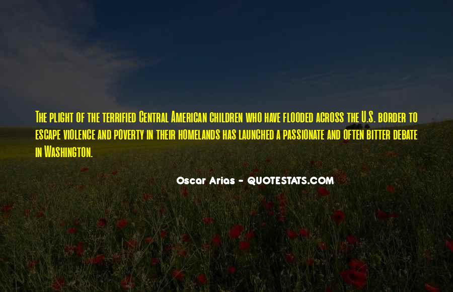 Quotes About Poverty And Violence #622227
