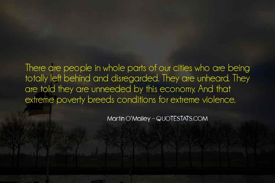 Quotes About Poverty And Violence #889091