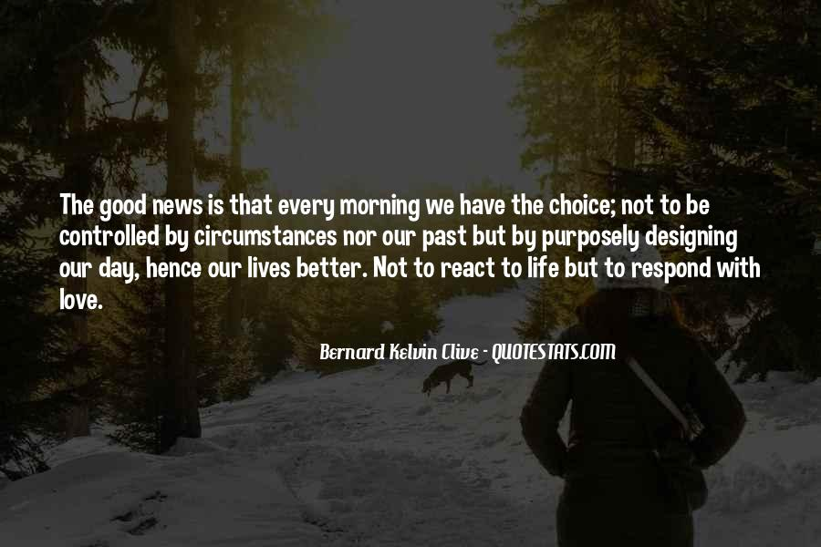 Quotes About Love And Good Morning #1485413