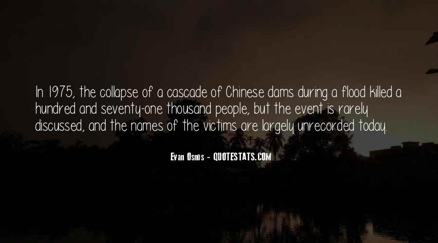 Quotes About Flood Victims #1079587