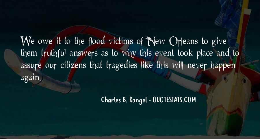 Quotes About Flood Victims #1214139