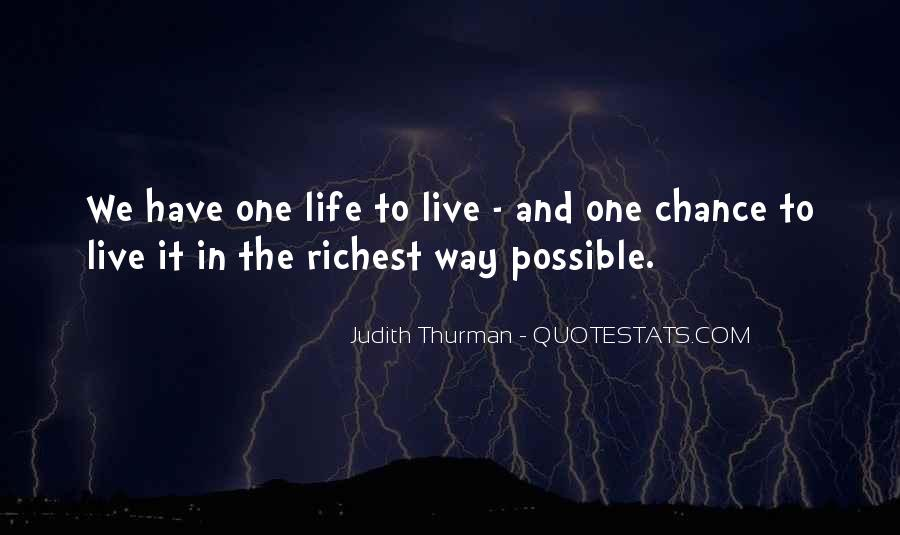 Quotes About Another Chance At Life #120521