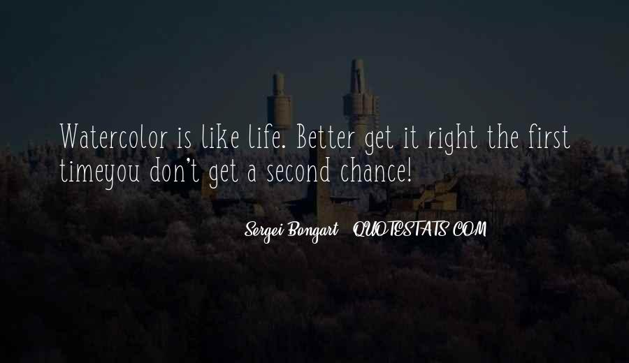 Quotes About Another Chance At Life #61207