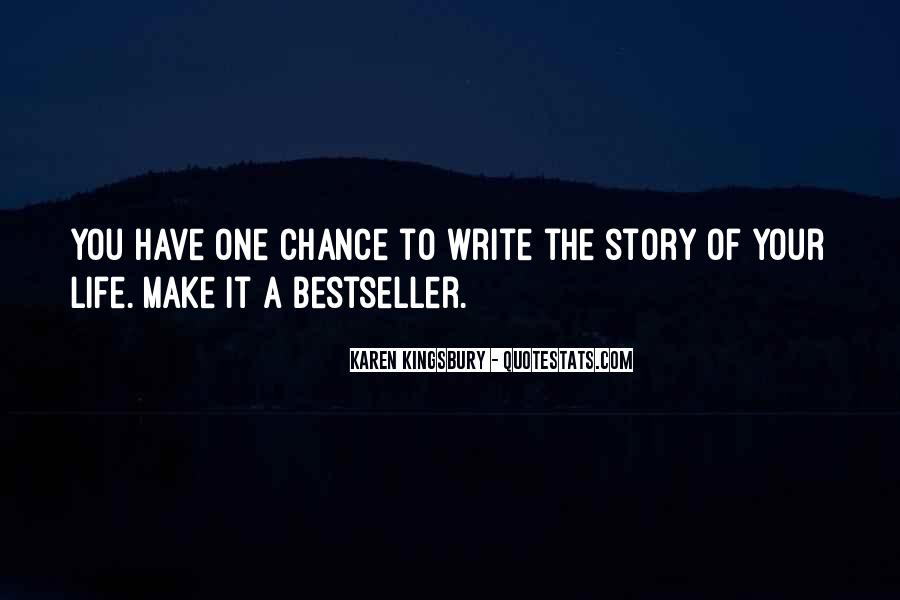 Quotes About Another Chance At Life #84407
