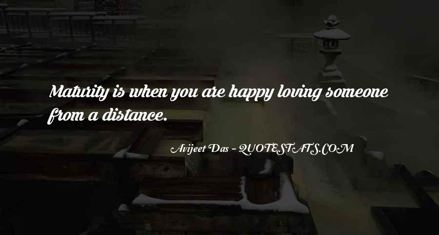 Top 67 Quotes About Distance Relationship: Famous Quotes