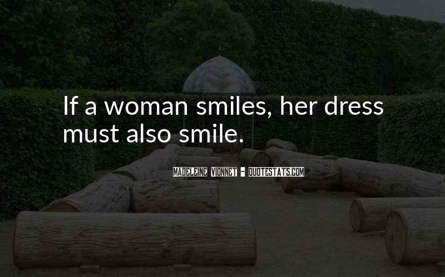 Quotes About Woman's Smile #1347688