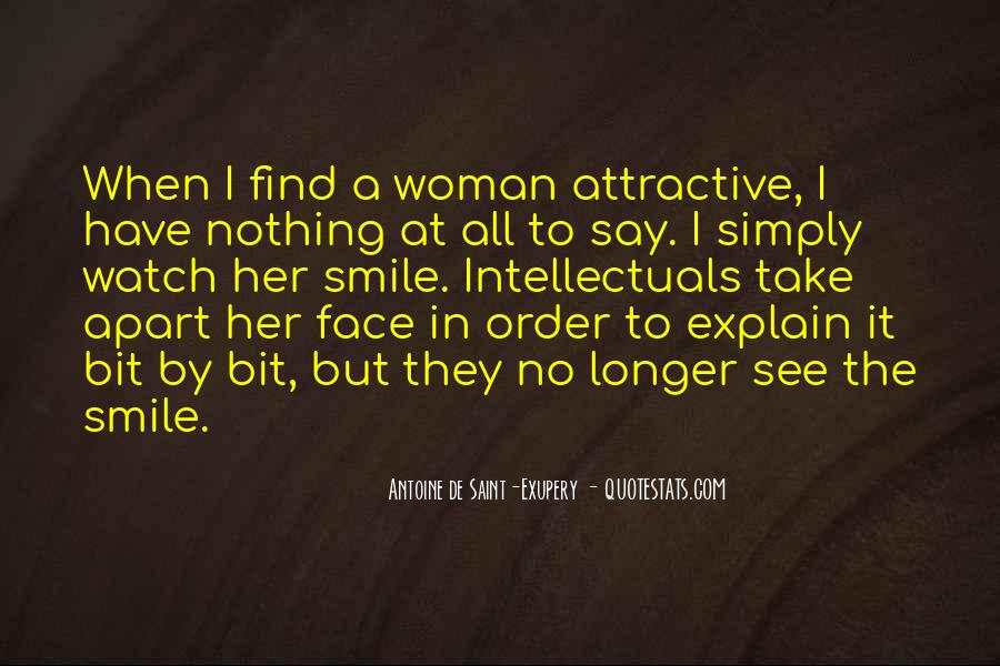 Quotes About Woman's Smile #1361663