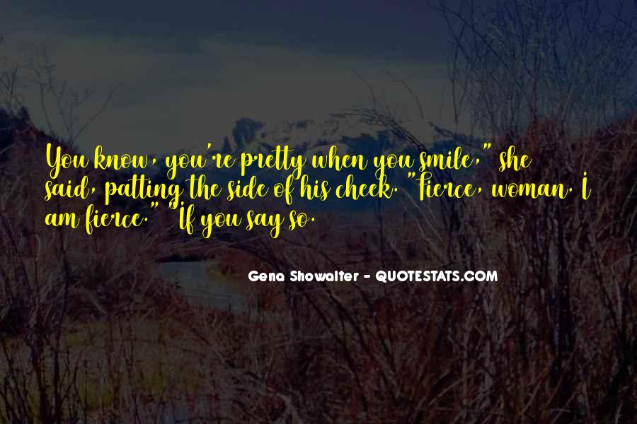 Quotes About Woman's Smile #210099