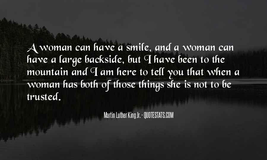 Quotes About Woman's Smile #427566