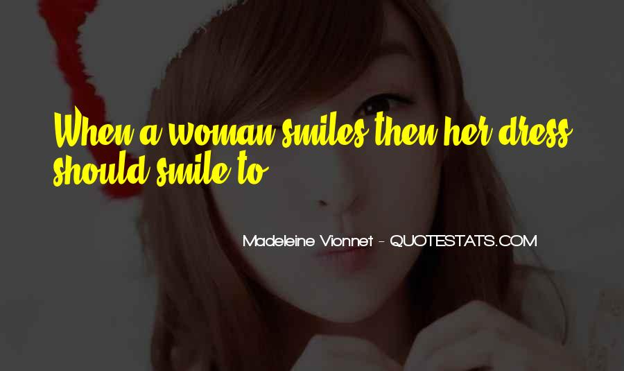 Quotes About Woman's Smile #655729