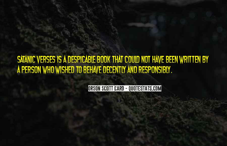 Quotes About Despicable Person #325144