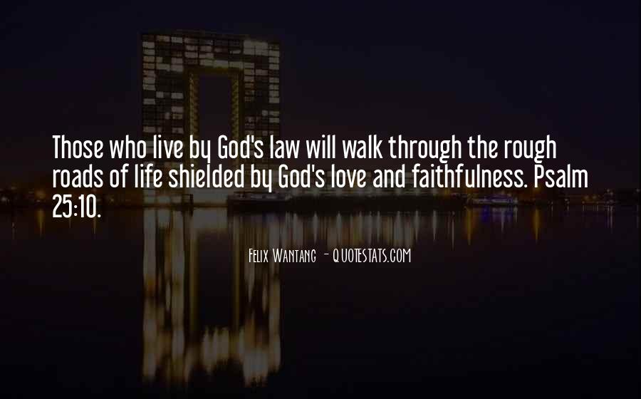 Quotes About God's Love And Faithfulness #1747991