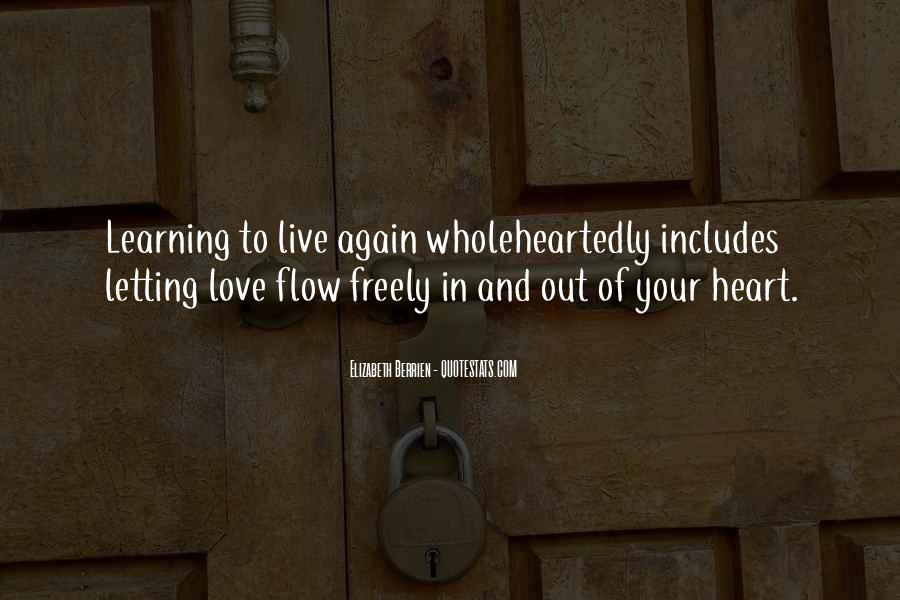Quotes About Letting Yourself Love Someone #99377