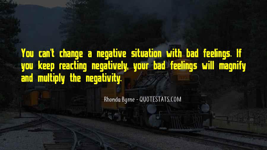 Quotes About Negative Change #1093824
