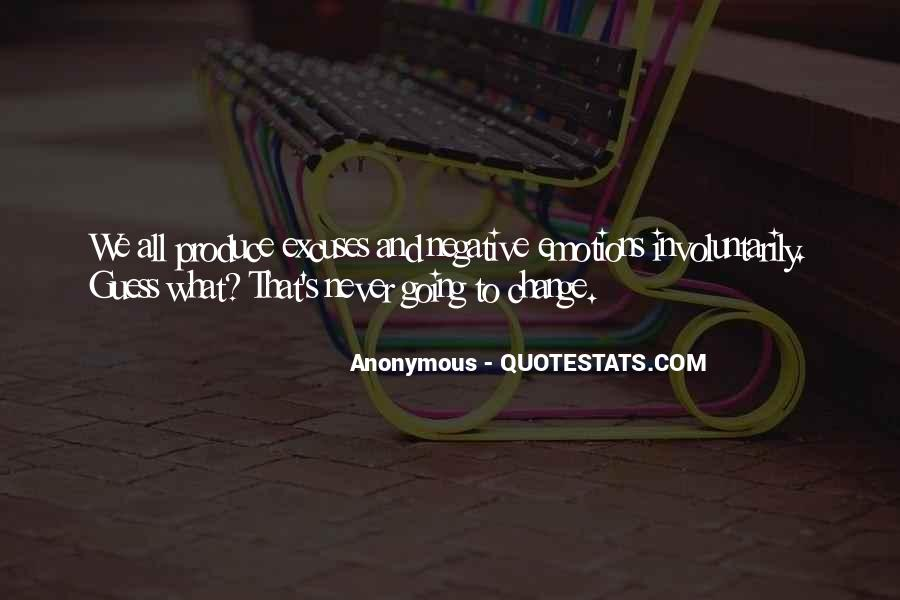 Quotes About Negative Change #1171269