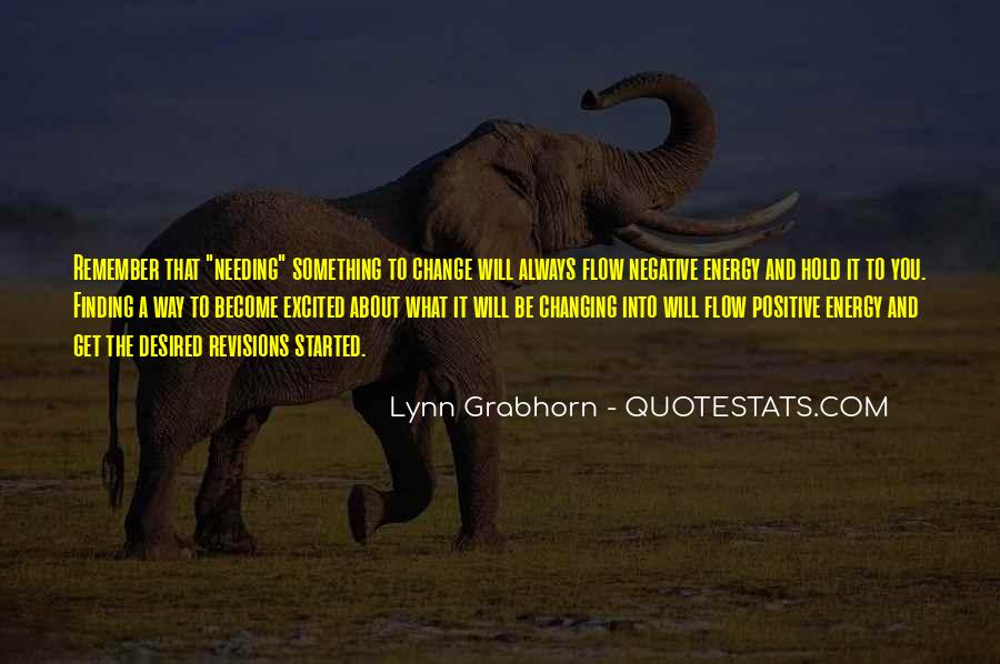 Quotes About Negative Change #1342546