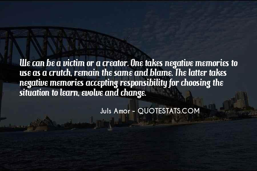 Quotes About Negative Change #148523