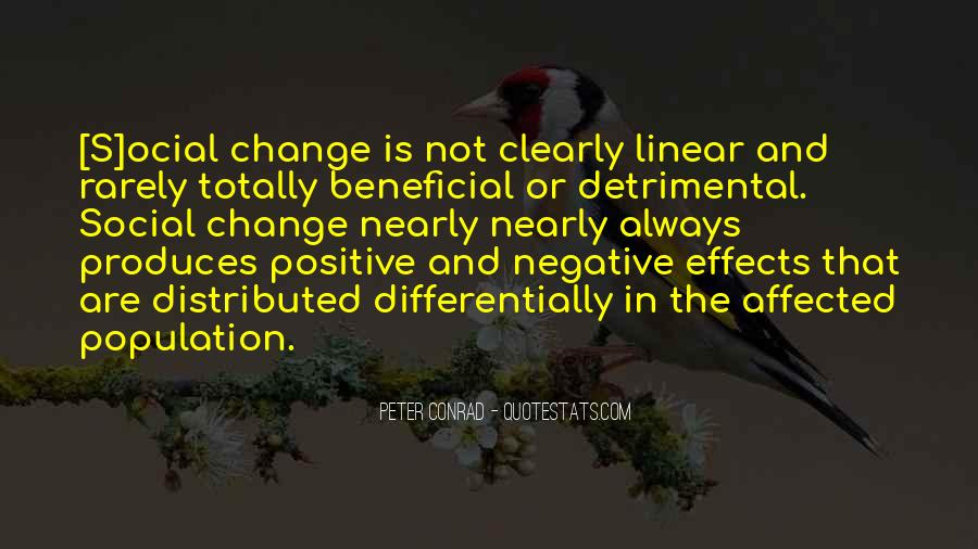 Quotes About Negative Change #1564516