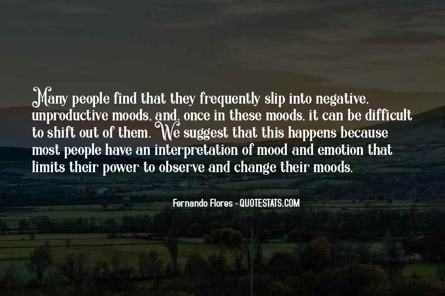 Quotes About Negative Change #1635273