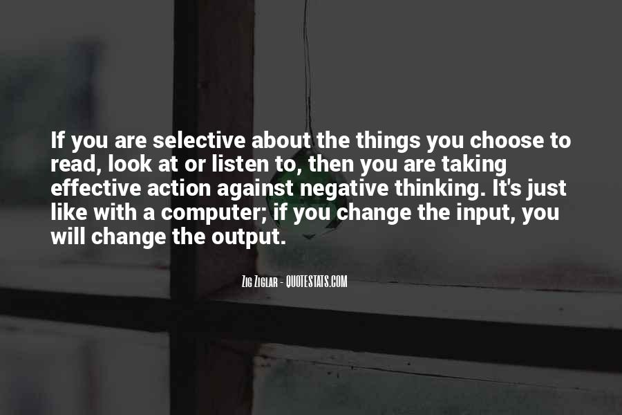 Quotes About Negative Change #1804793