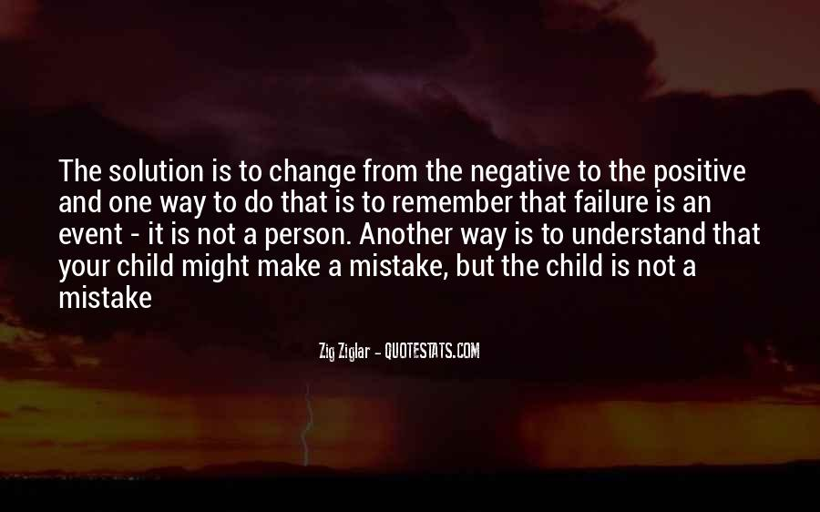 Quotes About Negative Change #1828405