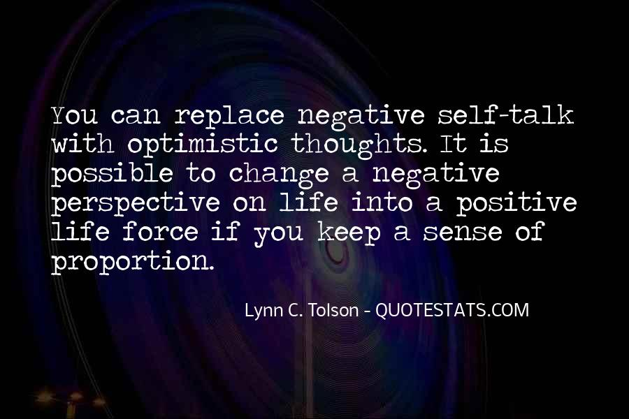 Quotes About Negative Change #471567