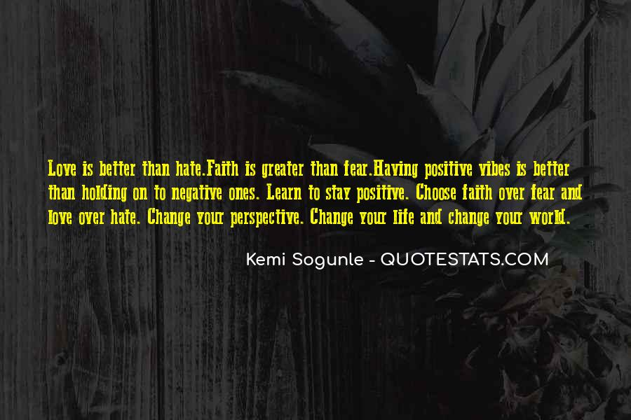 Quotes About Negative Change #50048