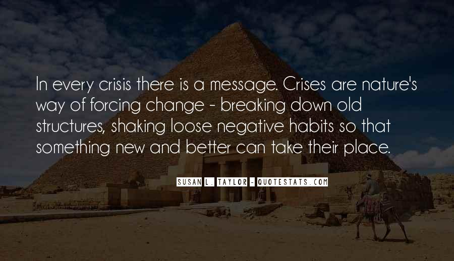 Quotes About Negative Change #796135
