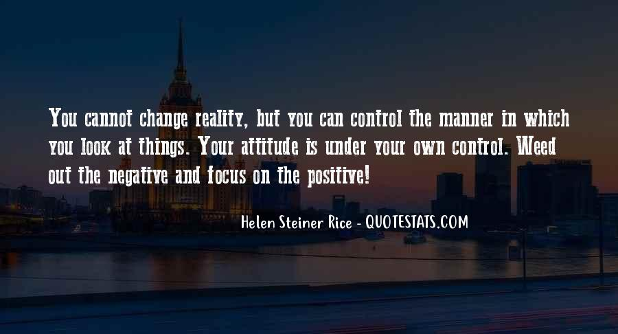 Quotes About Negative Change #885155