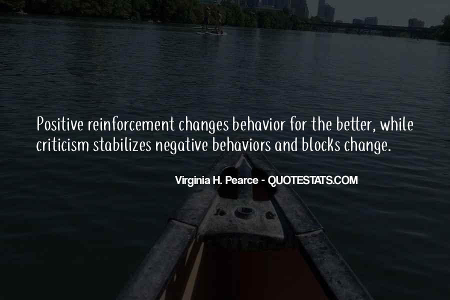 Quotes About Negative Change #904321