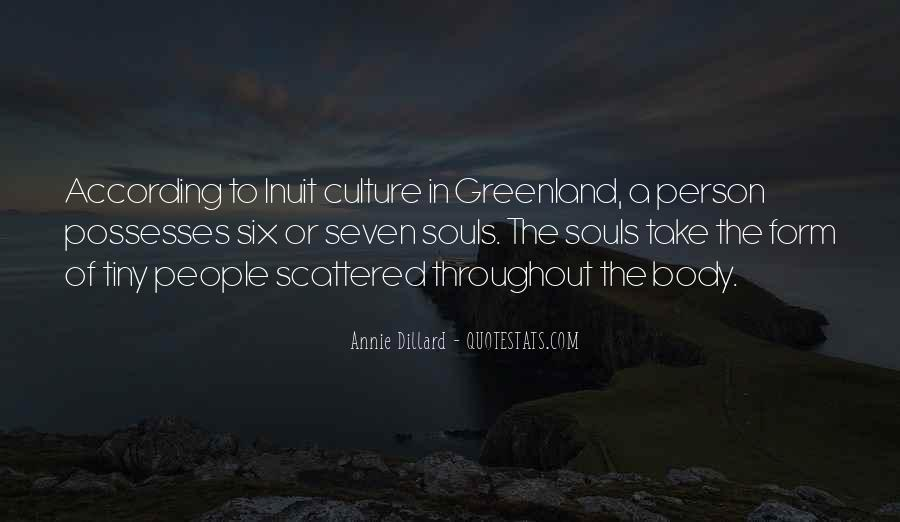 Quotes About Inuit #530087