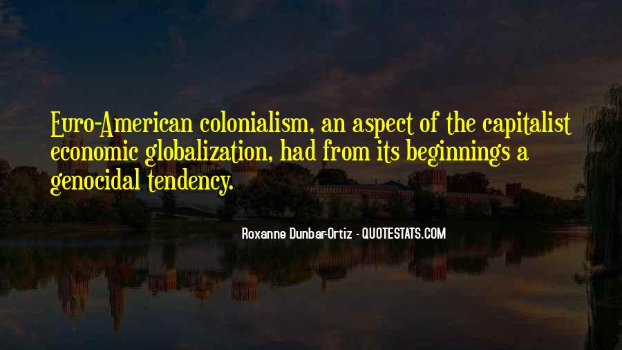 Quotes About Globalization's #104060