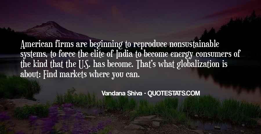 Quotes About Globalization's #1217841