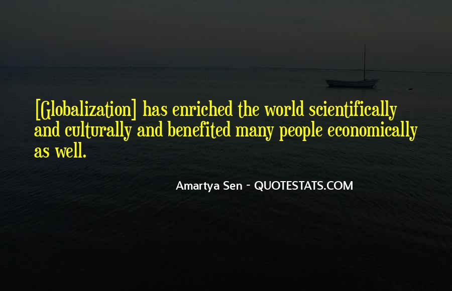 Quotes About Globalization's #12428