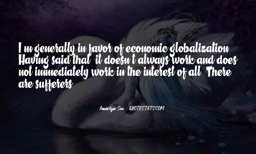 Quotes About Globalization's #134997