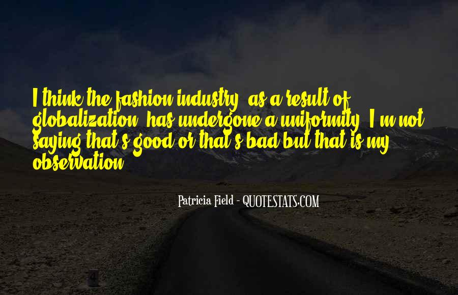 Quotes About Globalization's #1480264