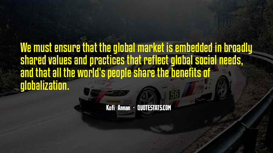 Quotes About Globalization's #1578060