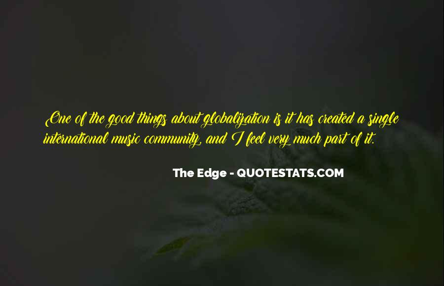 Quotes About Globalization's #166840