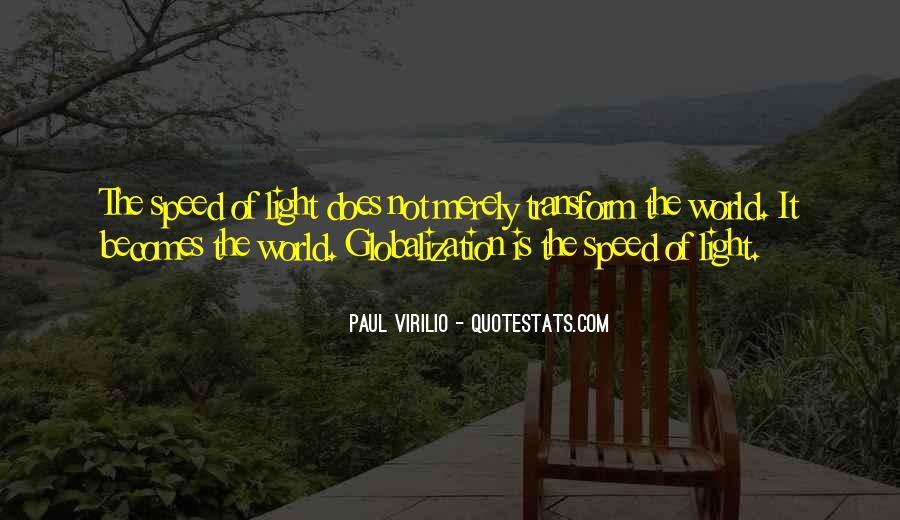 Quotes About Globalization's #17196