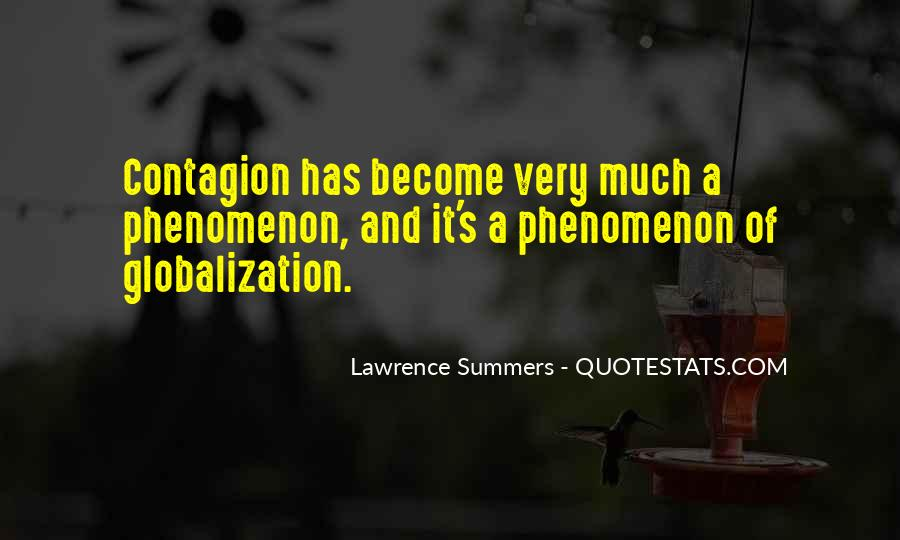 Quotes About Globalization's #1820488