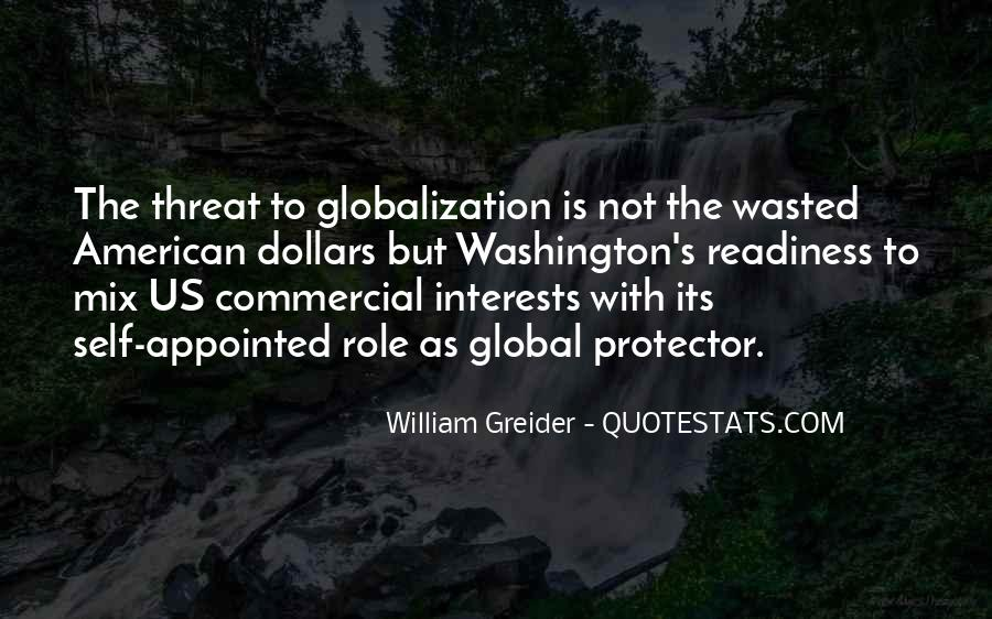 Quotes About Globalization's #1821585