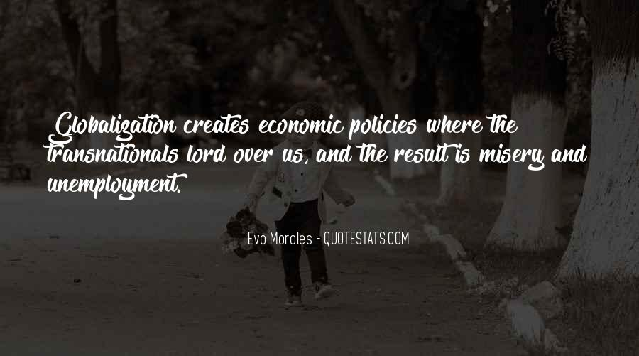 Quotes About Globalization's #191155