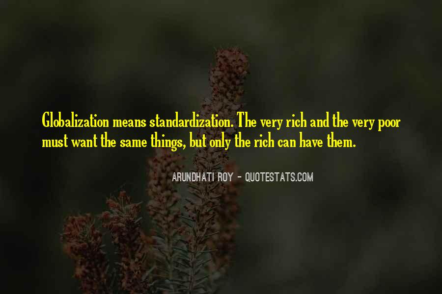 Quotes About Globalization's #204082