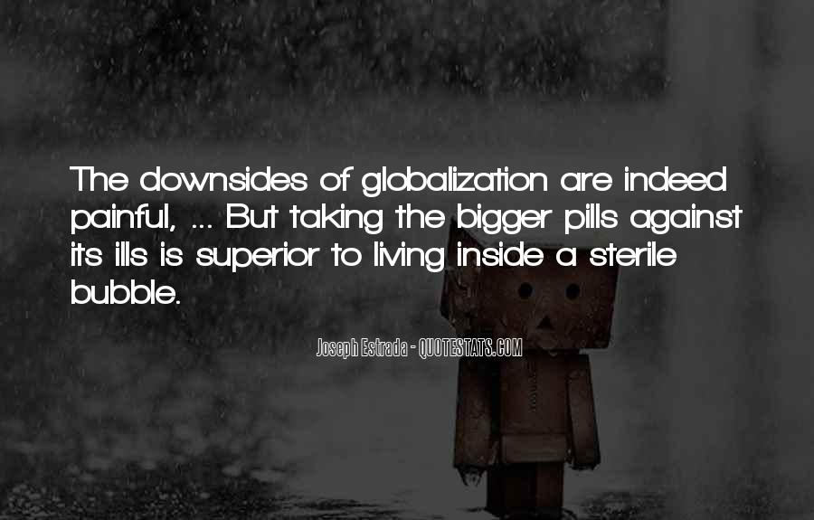 Quotes About Globalization's #207481