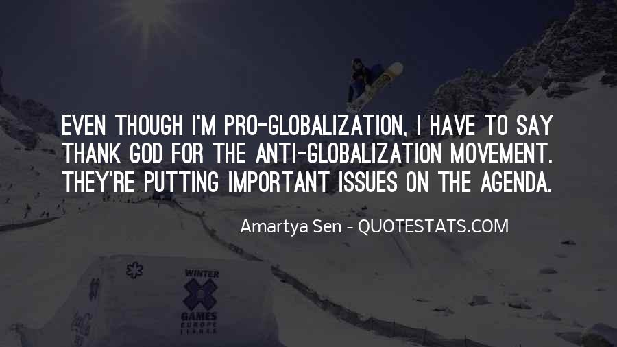 Quotes About Globalization's #213463
