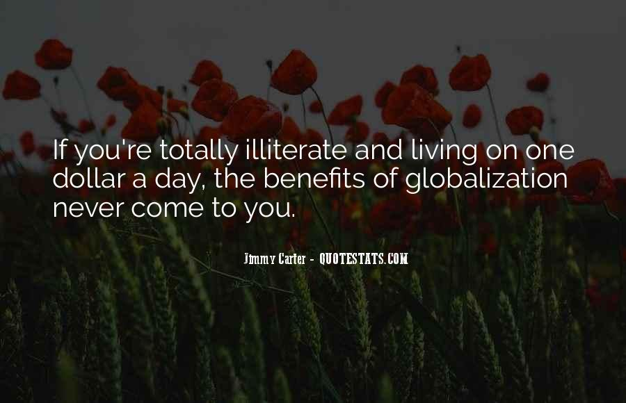 Quotes About Globalization's #2147