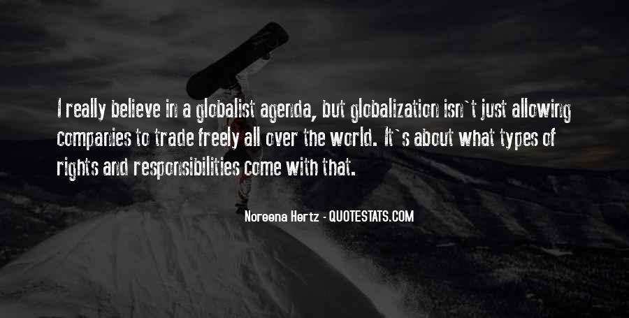 Quotes About Globalization's #235139