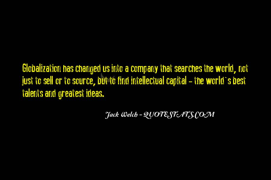 Quotes About Globalization's #353798